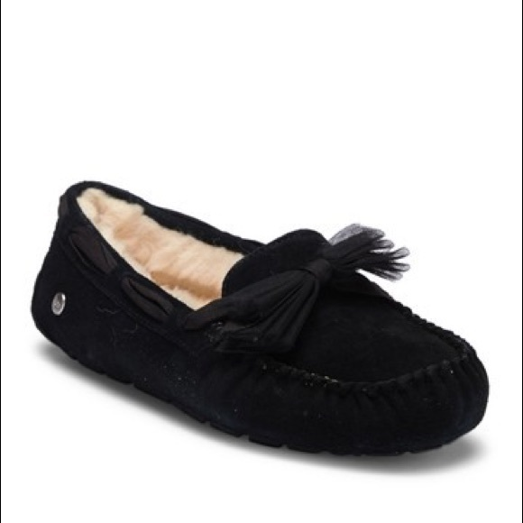 0b4f4a6115d Ugg Dakota tulle Bow Slippers NWT